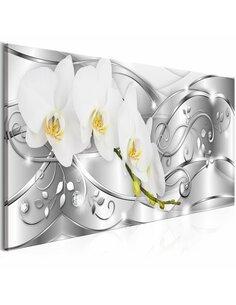 Tableau FLOWERING NARROW SILVER