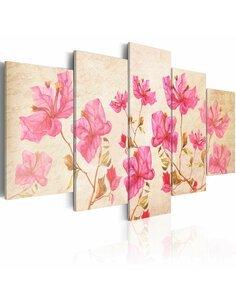 Tableau FLOWERS IN PINK