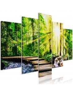 Tableau FOREST FOOTBRIDGE WIDE