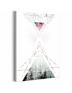 Tableau GEOMETRIC ABSTRACTION VERTICAL