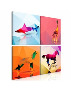 Tableau GEOMETRIC ANIMALS