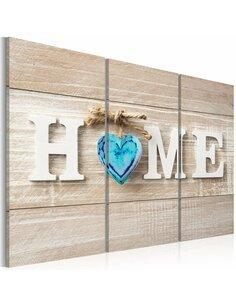 Tableau HOME BLUE LOVE