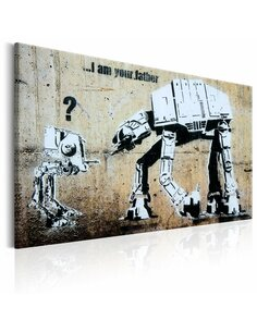 Tableau I AM YOUR FATHER BY BANKSY