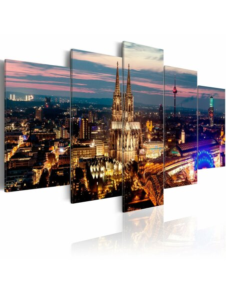 Tableau KOELN NIGHT PANORAMA