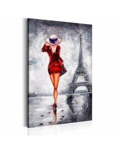 Tableau LADY IN PARIS
