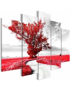 Tableau LONE TREE RED