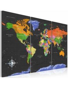 Tableau MAPS DARK DEPTH