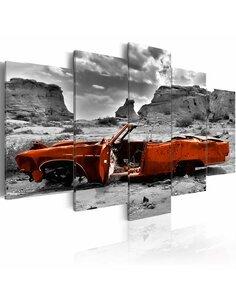 Tableau ORANGE CAR