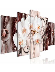Tableau ORCHID WATERFALL WIDE PINK