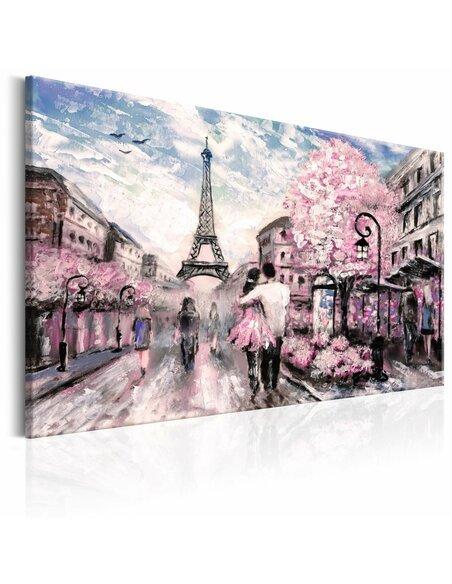Tableau PARIS EN ROSE