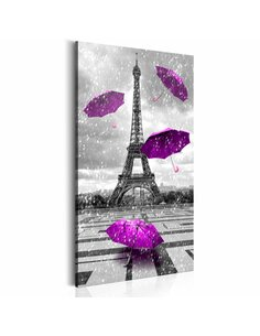 Tableau PARIS PURPLE UMBRELLAS