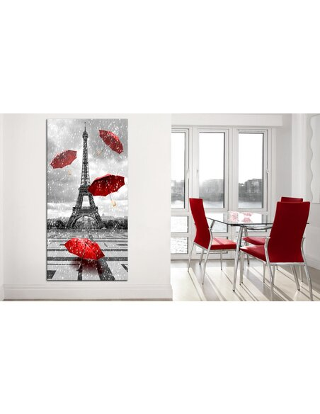 Tableau PARIS RED UMBRELLAS