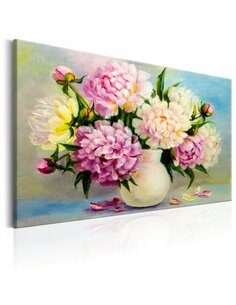 Tableau PEONIES BOUQUET OF HAPPINESS