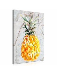 Tableau PINEAPPLE AND MARBLE VERTICAL