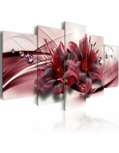 Tableau PINK LILY