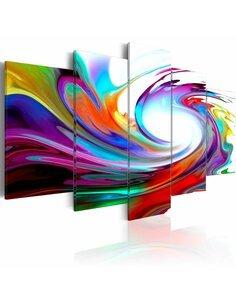Tableau RAINBOW swirl