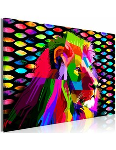 Tableau RAINBOW LION WIDE