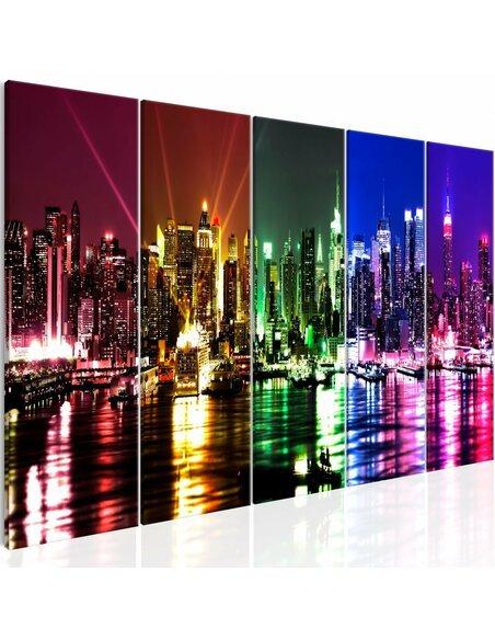Tableau RAINBOW NEW YORK NARROW