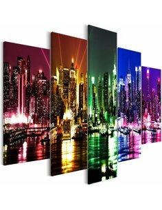 Tableau RAINBOW NEW YORK WIDE