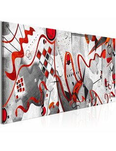Tableau RED RIBBONS WIDE