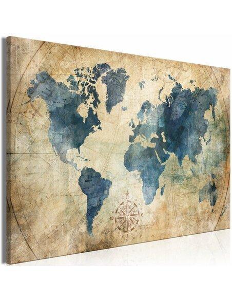 Tableau RETRO MAP WIDE