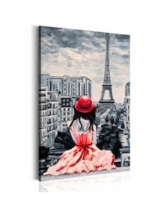 Tableau ROMANTIC PARIS