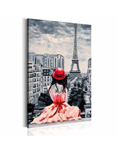 Tableau ROMANTIC PARIS