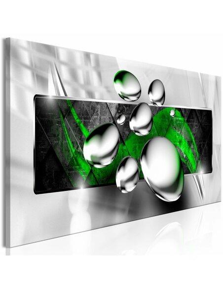 Tableau SHINY STONES NARROW GREEN