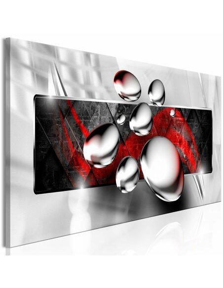 Tableau SHINY STONES NARROW RED