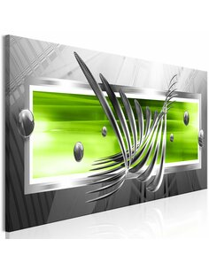 Tableau SILVER WINGS NARROW GREEN