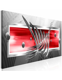 Tableau SILVER WINGS NARROW RED