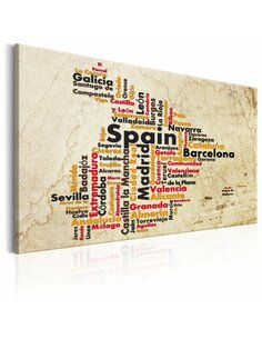 Tableau SPANISH CITIES