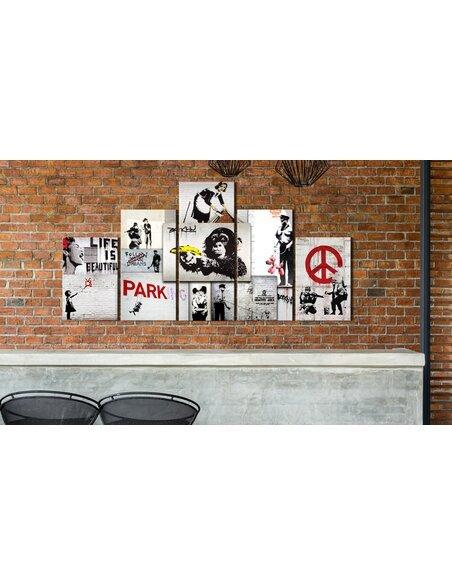 Tableau STREET CRIMES BANKSY ART