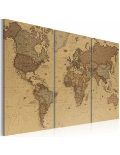 Tableau STYLISH WORLD MAP