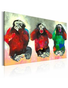 Tableau THREE WISE MONKEYS