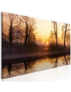Tableau WINTER SUNSET NARROW
