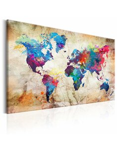 Tableau WORLD MAP URBAN STYLE