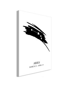 Tableau ZODIAC SIGNS ARIES VERTICAL