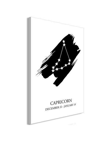 Tableau ZODIAC SIGNS CAPRICORN VERTICAL