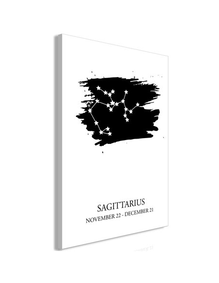 Tableau ZODIAC SIGNS SAGITTARIUS VERTICAL