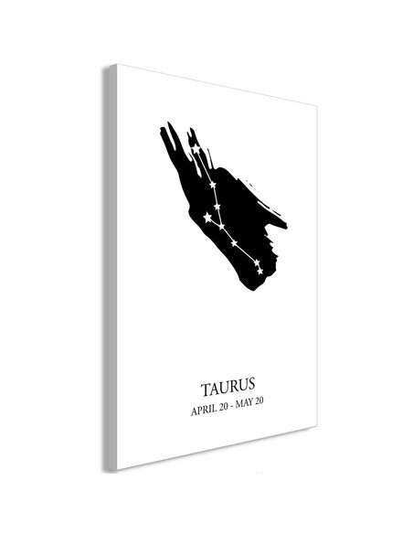 Tableau ZODIAC SIGNS TAURUS VERTICAL