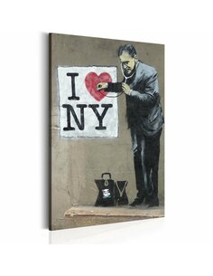 Tableau I LOVE NEW YORK BY BANKSY