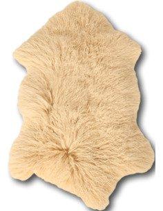 Peau d'agneau tibet Ocre