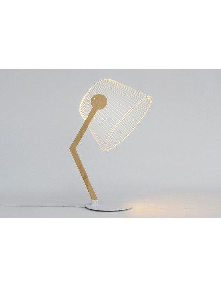 Lampe ZIGGY 3D Lumière Led
