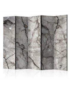 Paravent 5 volets GREY MARBLE II