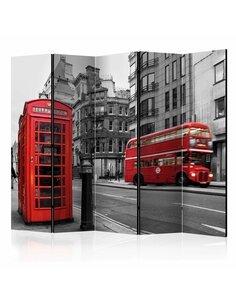 Paravent 5 volets LONDON ICONS II