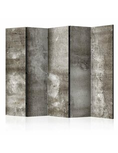 Paravent 5 volets COLD CONCRETE