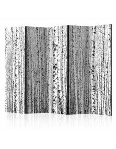 Paravent 5 volets BIRCH FOREST