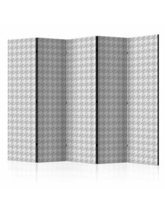 Paravent 5 volets DOGTOOTH CHECK