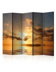Paravent 5 volets SEA sunset